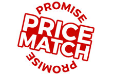 We will not be beaten on price; check out our Price-Match Guarantee